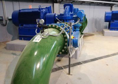 Instalación de motores